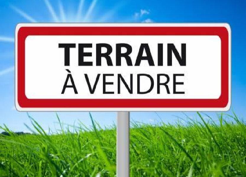 Terrain à vendre 979m2 à Rozay-en-Brie