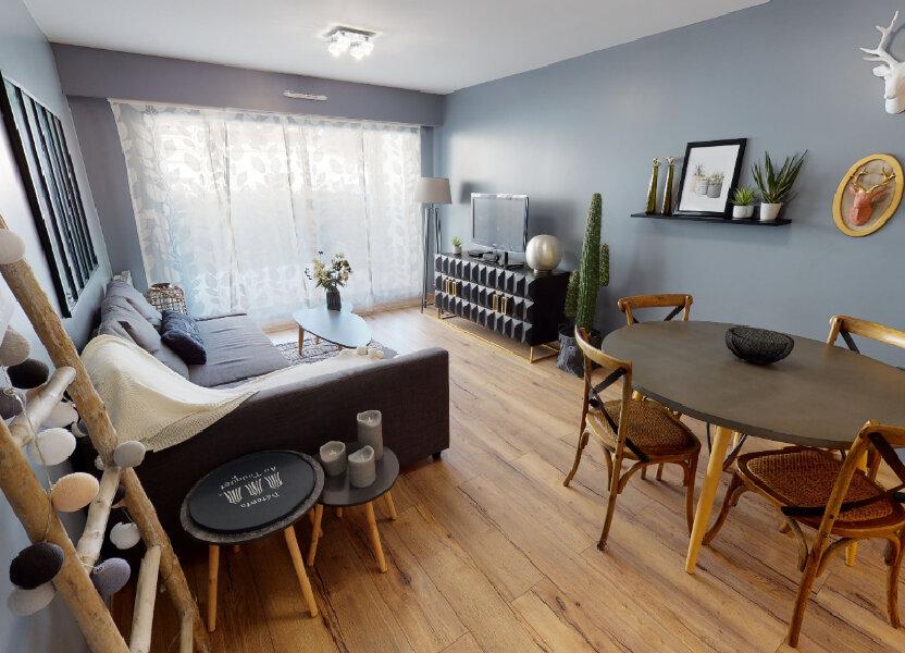 Appartement à vendre 46m2 à Le Touquet-Paris-Plage