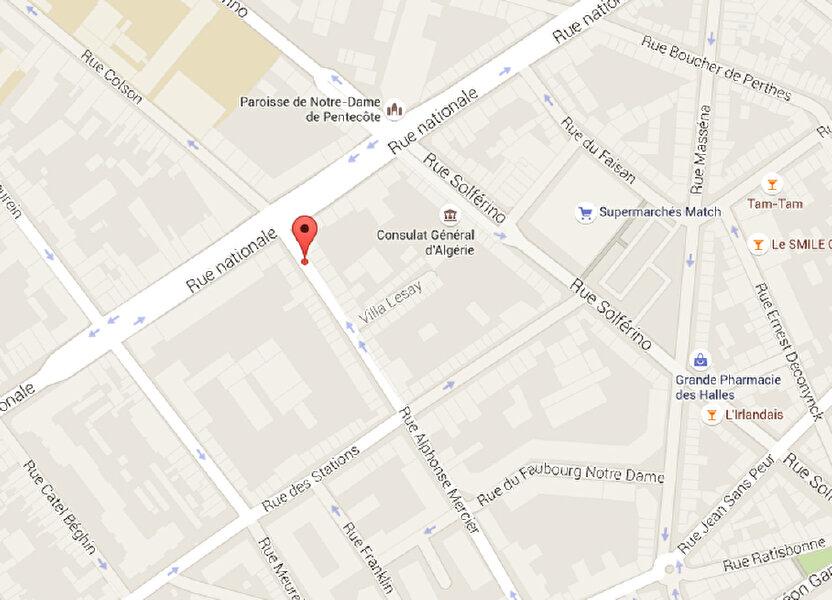Stationnement à louer 12m2 à Lille