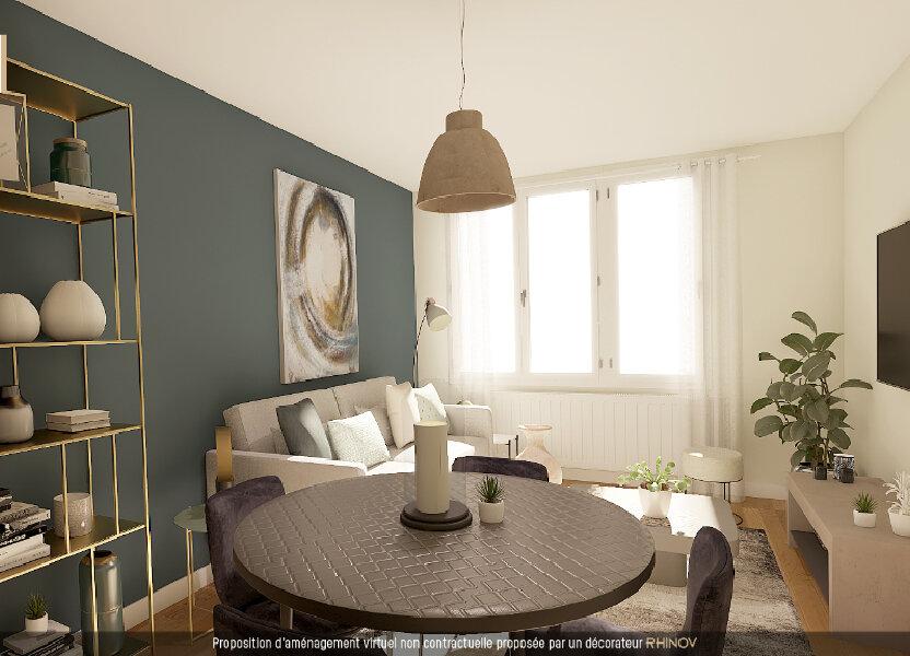 Appartement à vendre 55m2 à Lyon 9