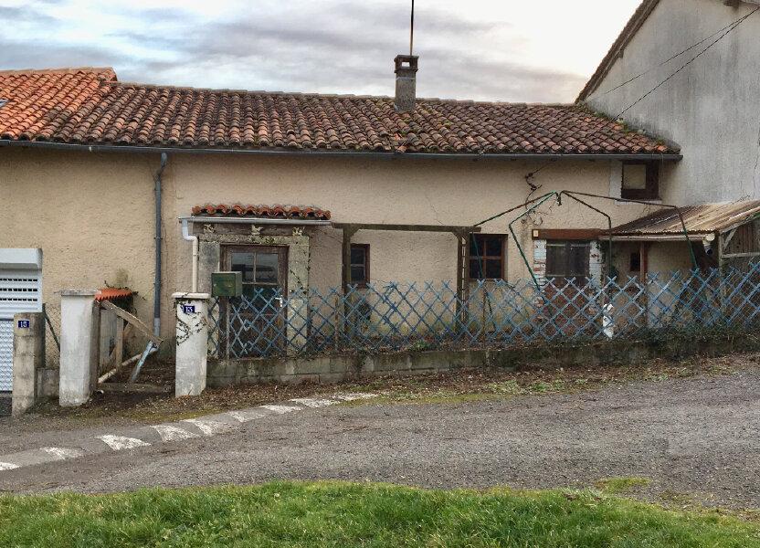 Maison à vendre 60m2 à Roumazières-Loubert