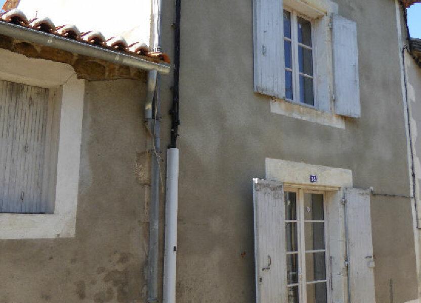 Maison à vendre 55m2 à Montbron