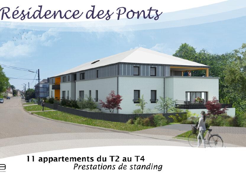 Appartement à vendre 65.6m2 à Kuntzig