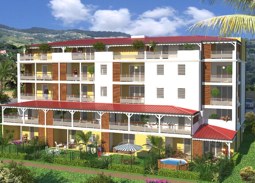 Appartement à vendre 94.98m2 à Saint-Joseph
