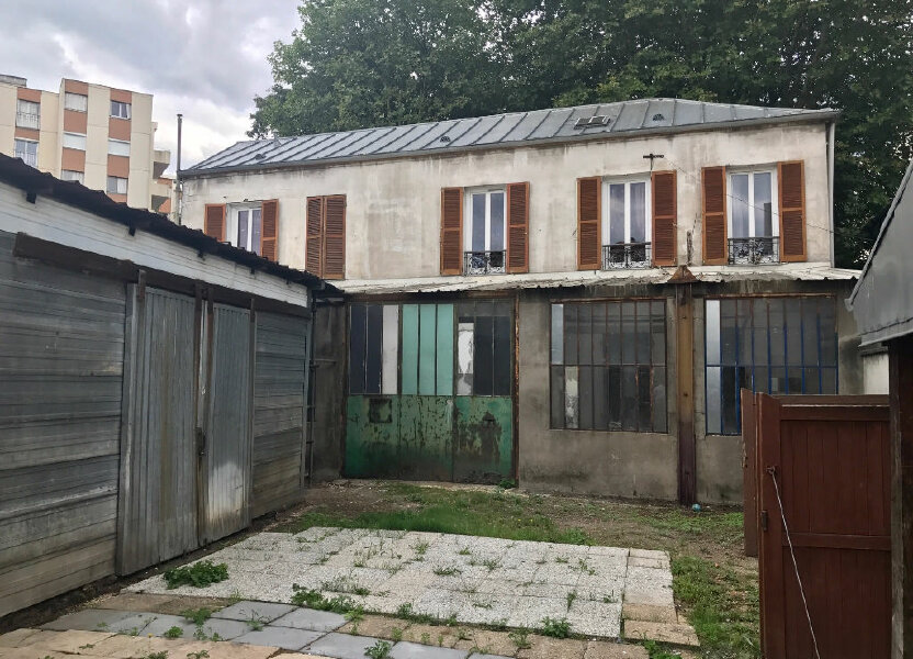 Immeuble à vendre 547m2 à Le Bourget