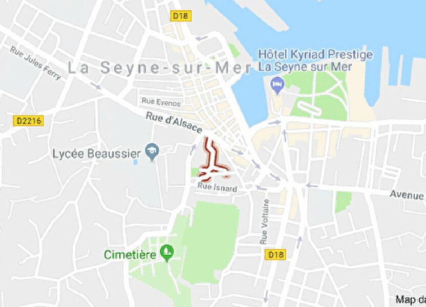 Stationnement à louer 15m2 à La Seyne-sur-Mer