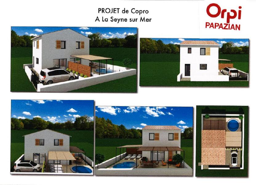 Maison à vendre 88m2 à La Seyne-sur-Mer