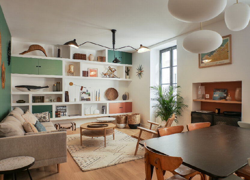 Appartement à vendre 63m2 à Saint-Jean-de-Luz