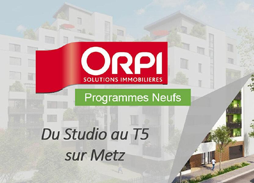 Appartement à vendre 93.3m2 à Metz