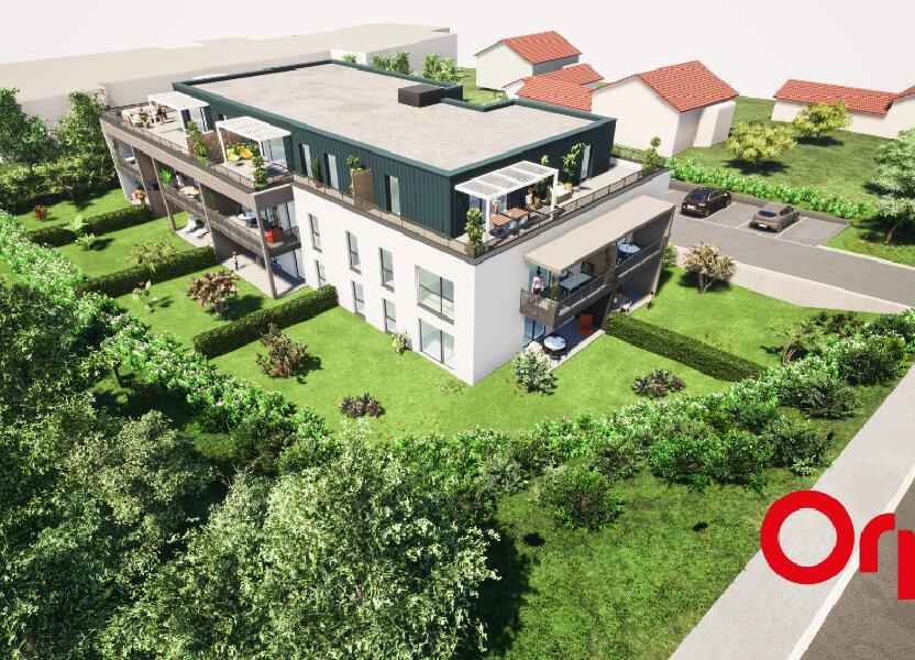 Appartement à vendre 68.29m2 à Metz