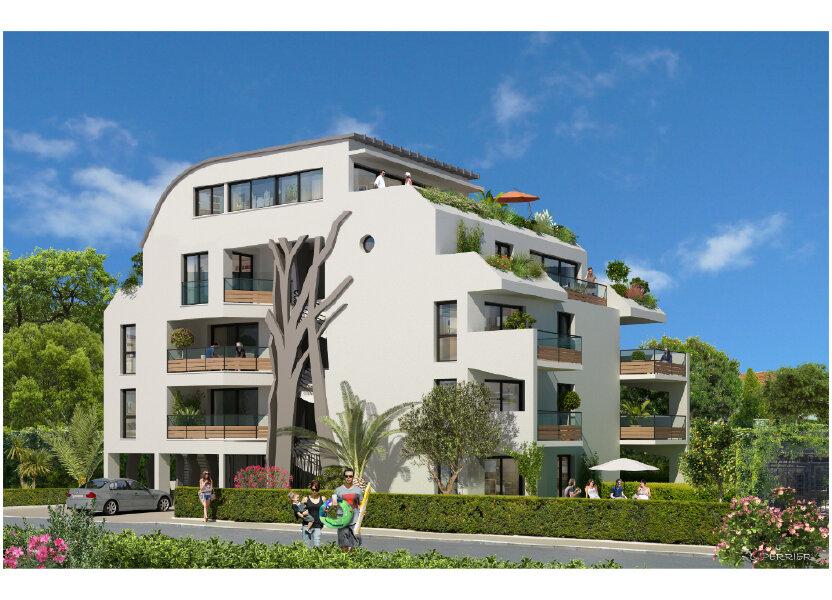 Appartement à vendre 60m2 à Saint-Laurent-du-Var
