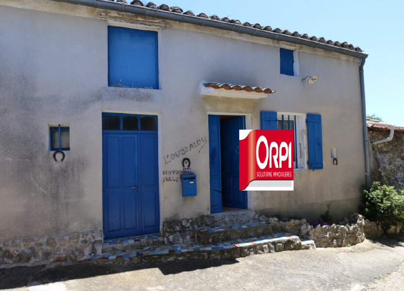 Maison à vendre 72m2 à Vallon-Pont-d'Arc