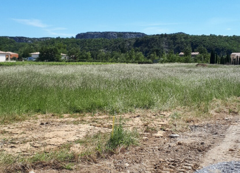 Terrain à vendre 824m2 à Vallon-Pont-d'Arc