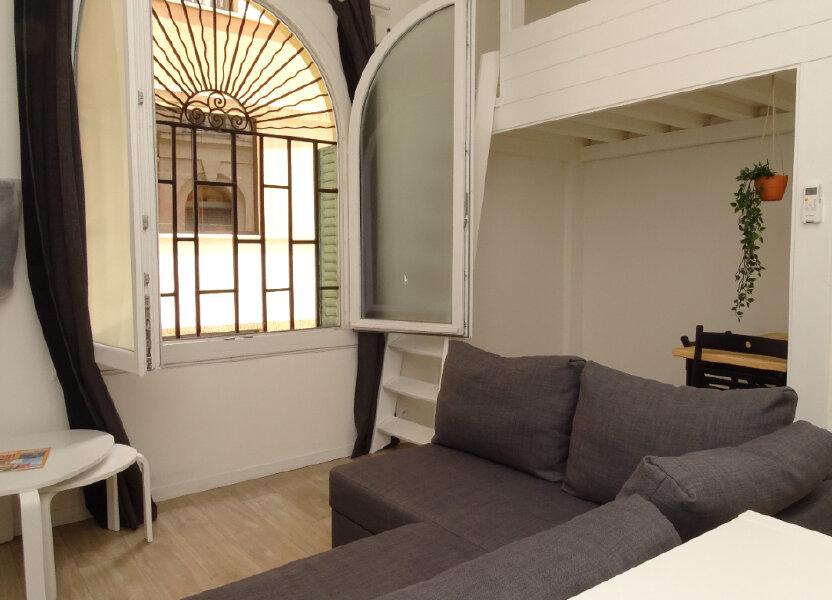 Appartement à louer 22.91m2 à Nice