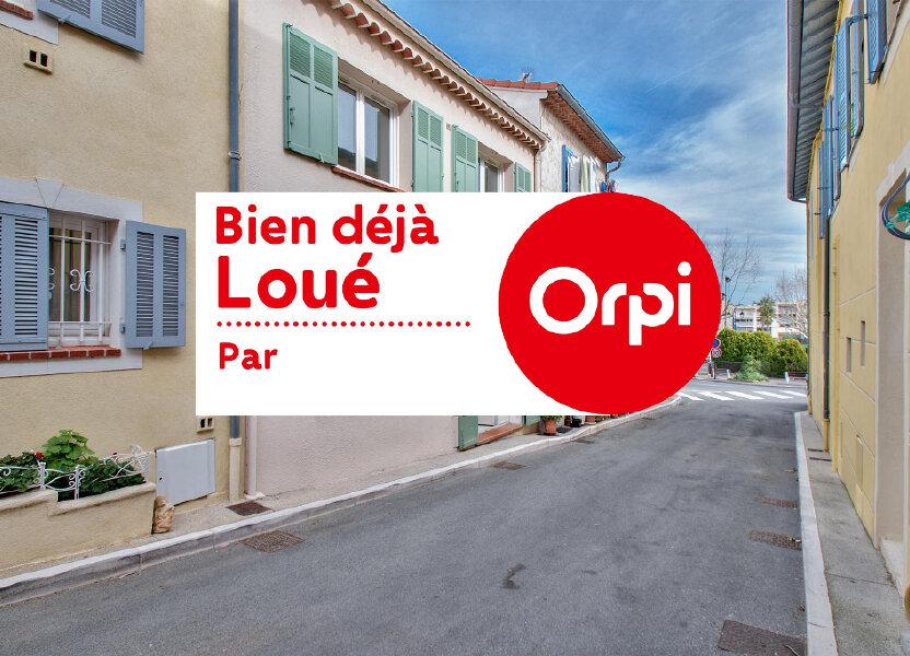 Maison à louer 61m2 à Mandelieu-la-Napoule