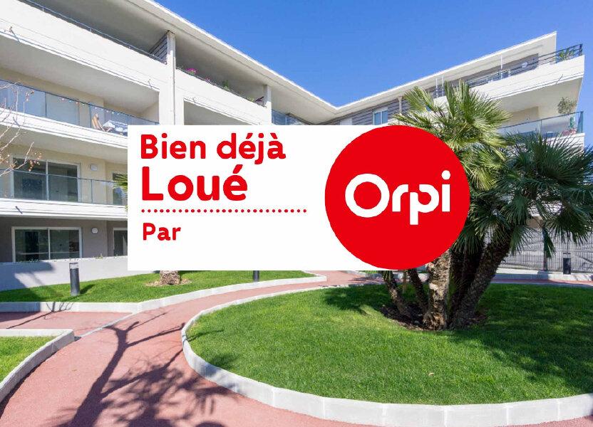 Appartement à louer 27.3m2 à Mandelieu-la-Napoule