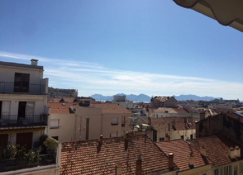Appartement à louer 32m2 à Cannes