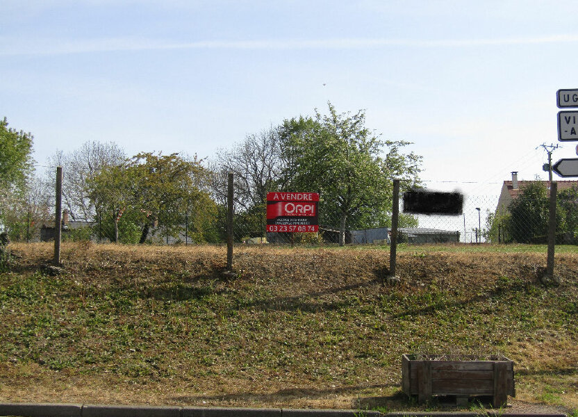 Terrain à vendre 843m2 à La Neuville-en-Beine