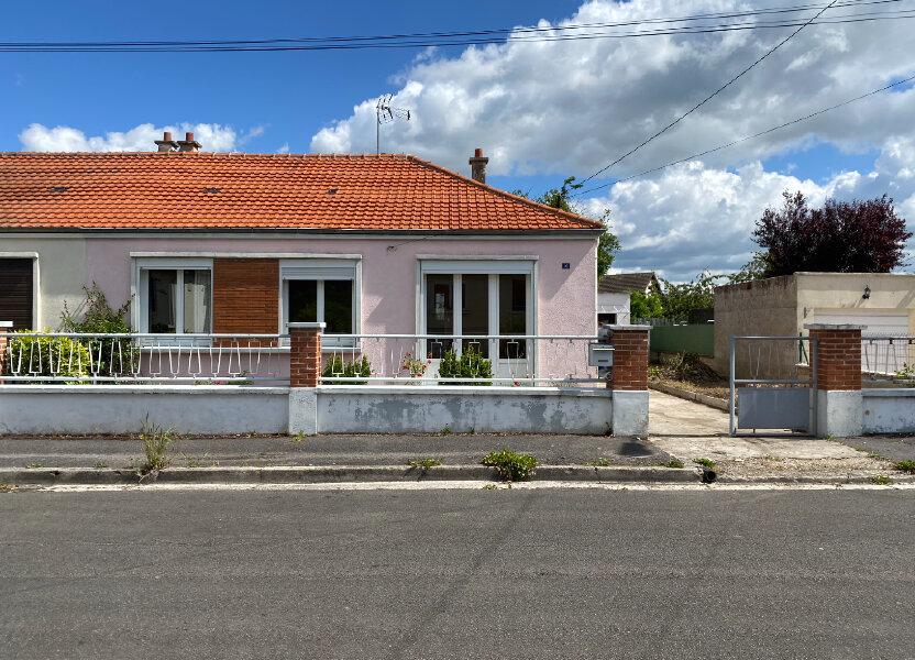 Maison à vendre 70m2 à Tergnier