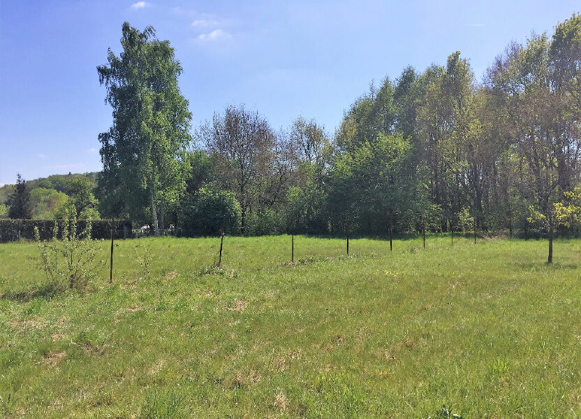 Terrain à vendre 2337m2 à Bruyères-et-Montbérault