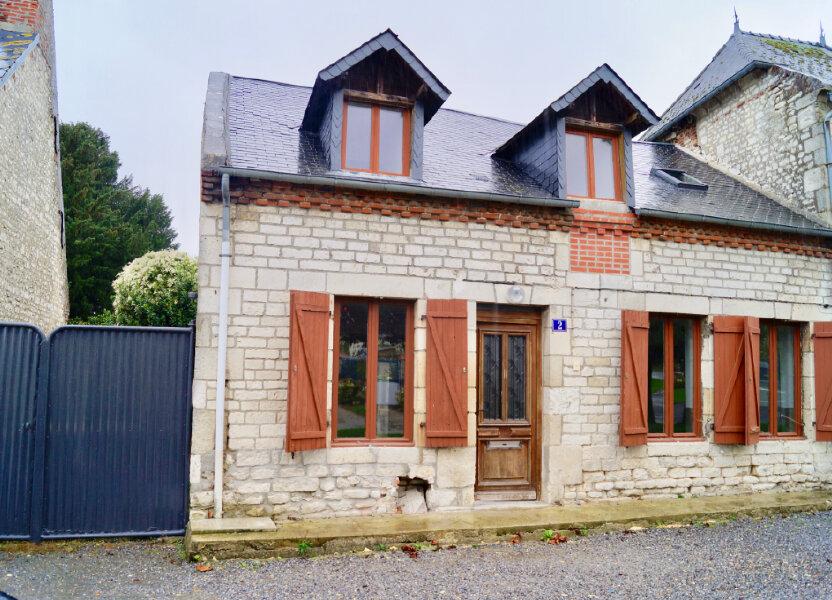 Maison à vendre 85m2 à Bucy-lès-Pierrepont