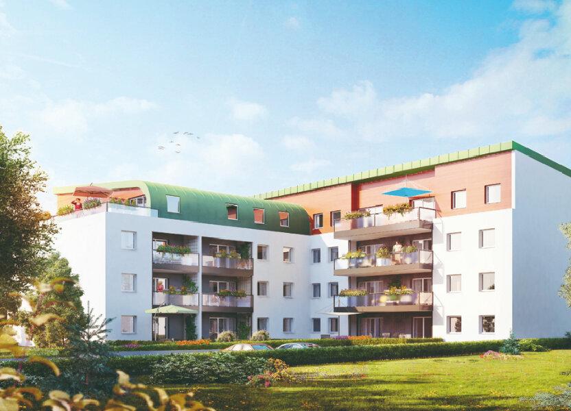 Appartement à louer 64.86m2 à Essey-lès-Nancy