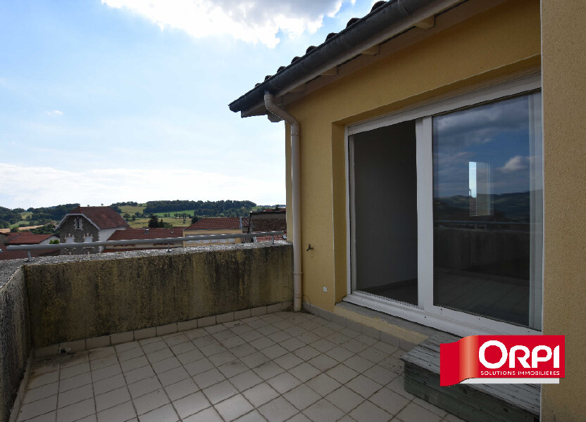 Appartement à louer 46m2 à Saint-Laurent-de-Chamousset