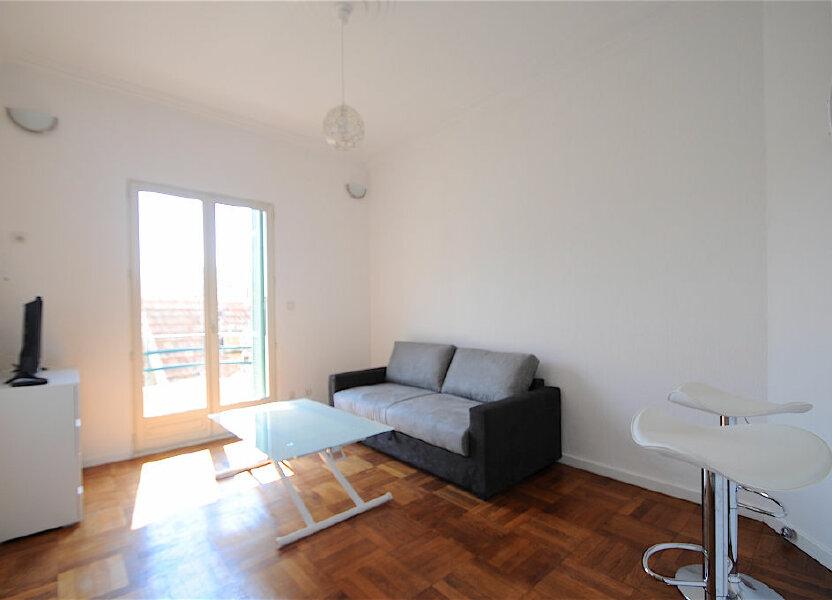 Appartement à louer 28.5m2 à Nice