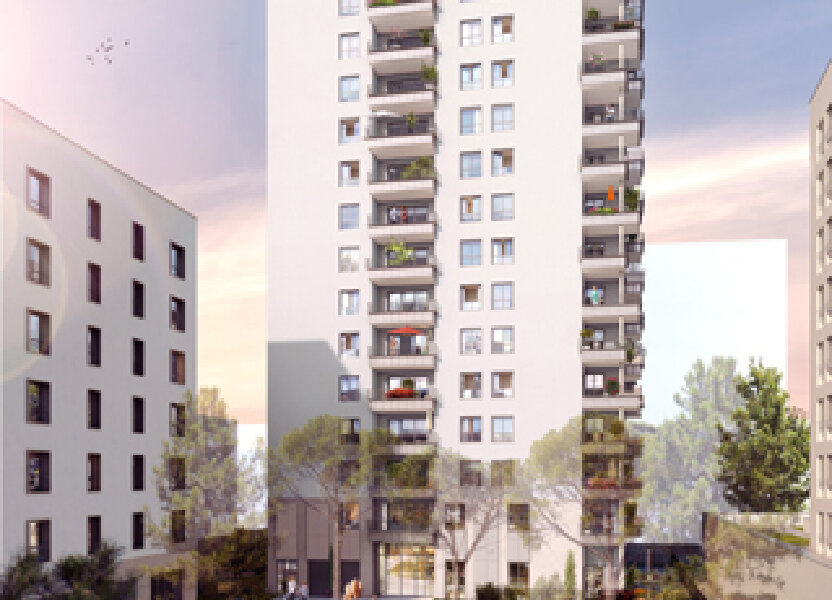 Appartement à vendre 83m2 à Villeurbanne