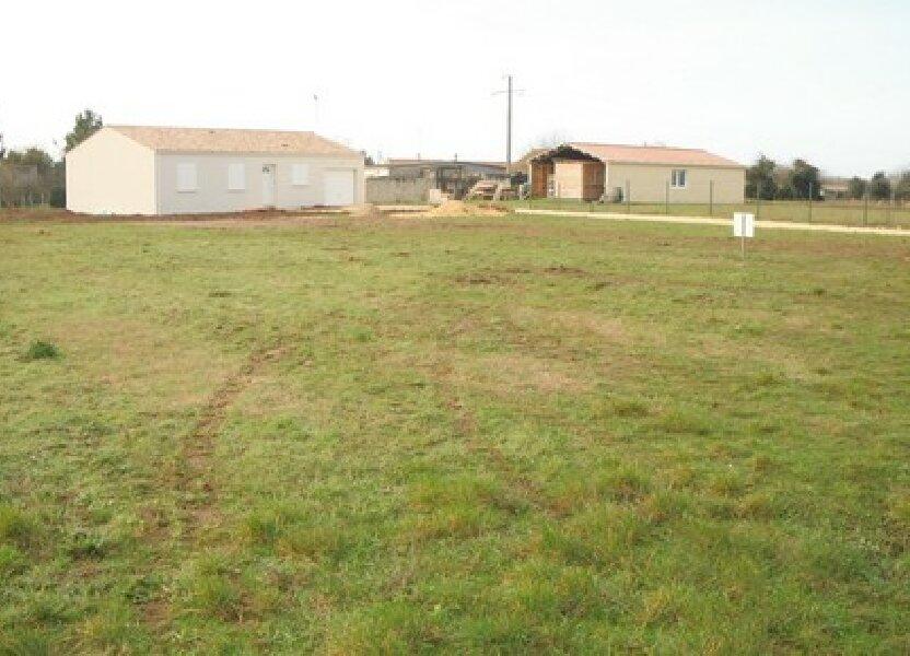 Terrain à vendre 1134m2 à Montpellier-de-Médillan