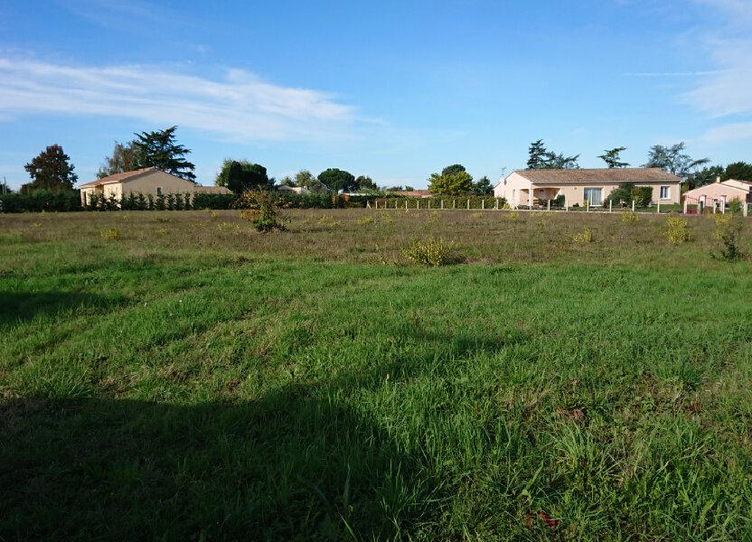 Terrain à vendre 1592m2 à Lamonzie-Saint-Martin