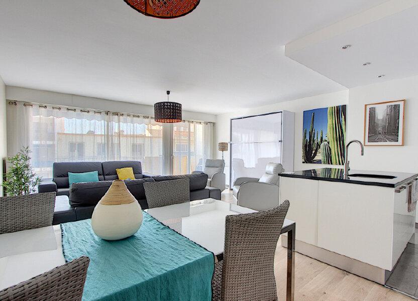 Appartement à vendre 60.35m2 à Juan-les-Pins - Antibes