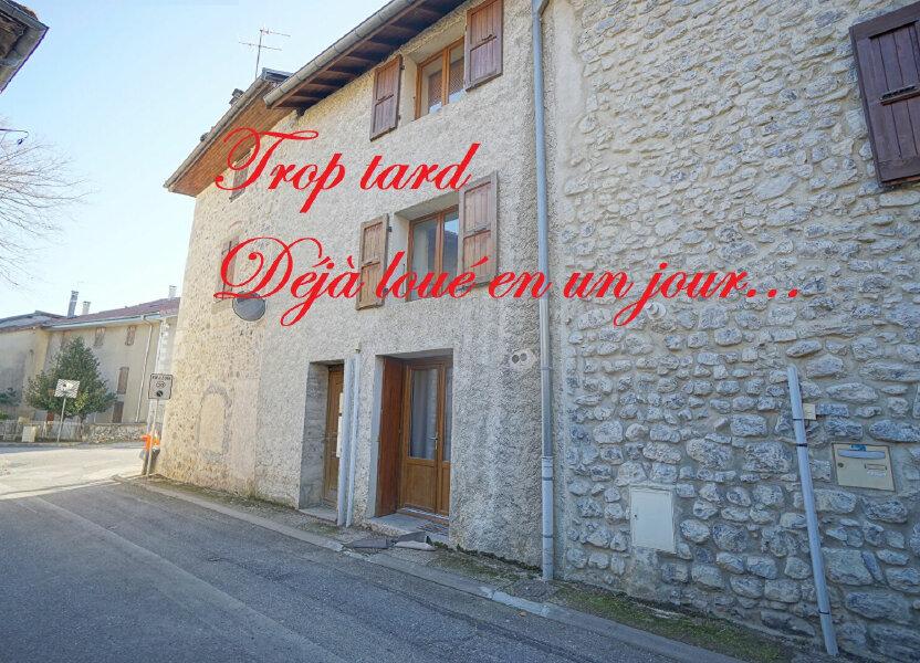 Appartement à louer 24.77m2 à La Terrasse