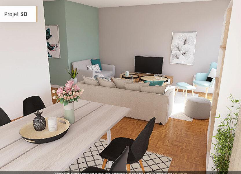 Appartement à vendre 86.73m2 à Villeurbanne