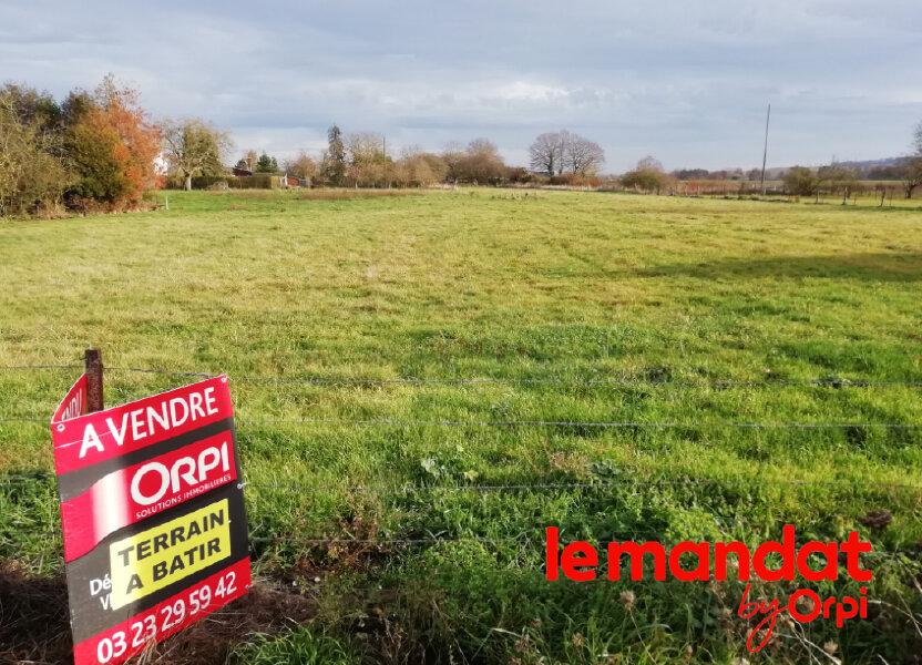 Terrain à vendre 1200m2 à Crécy-sur-Serre