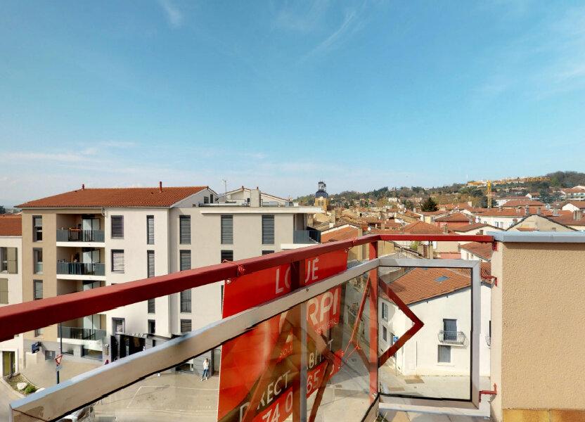 Appartement à louer 48.41m2 à Neuville-sur-Saône