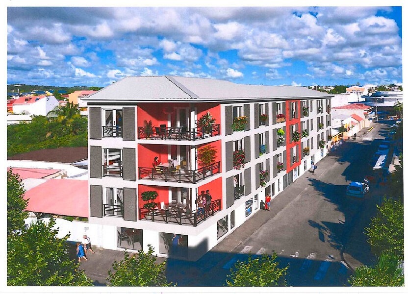 Appartement à vendre 64.02m2 à Saint-François
