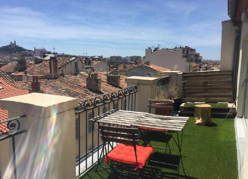 Appartement à louer 55m2 à Marseille 1