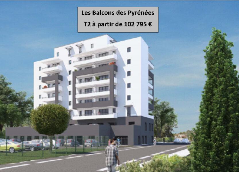 Appartement à vendre 44.5m2 à Pau