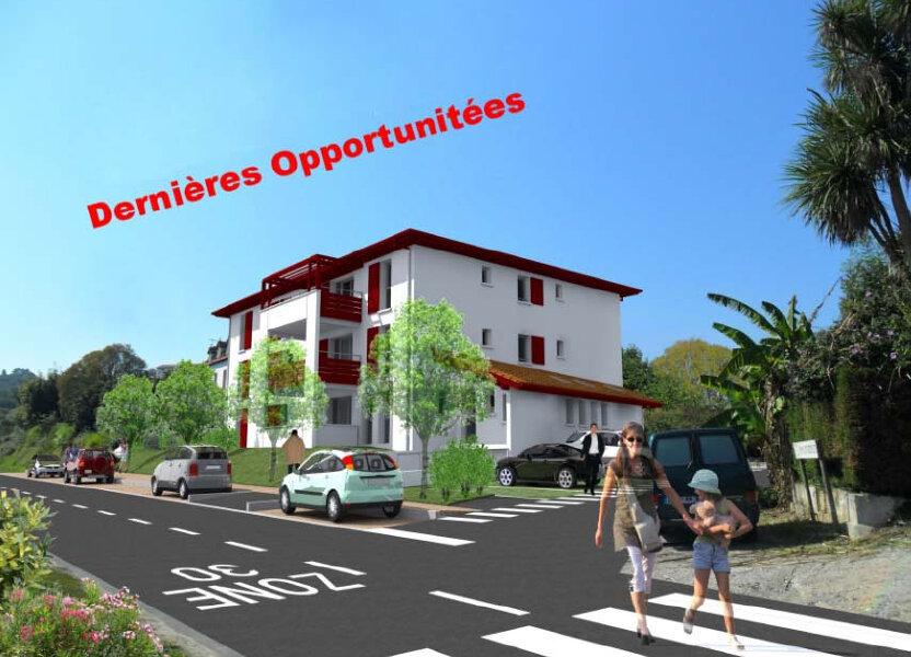 Appartement à vendre 64m2 à Ustaritz