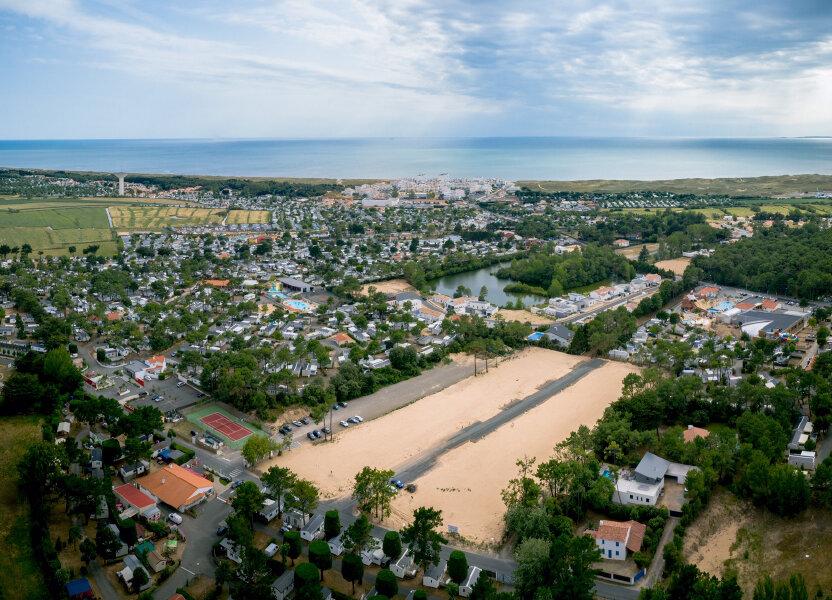 Terrain à vendre 536m2 à Saint-Jean-de-Monts
