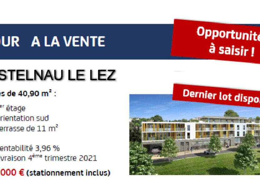 Appartement à vendre 41m2 à Castelnau-le-Lez