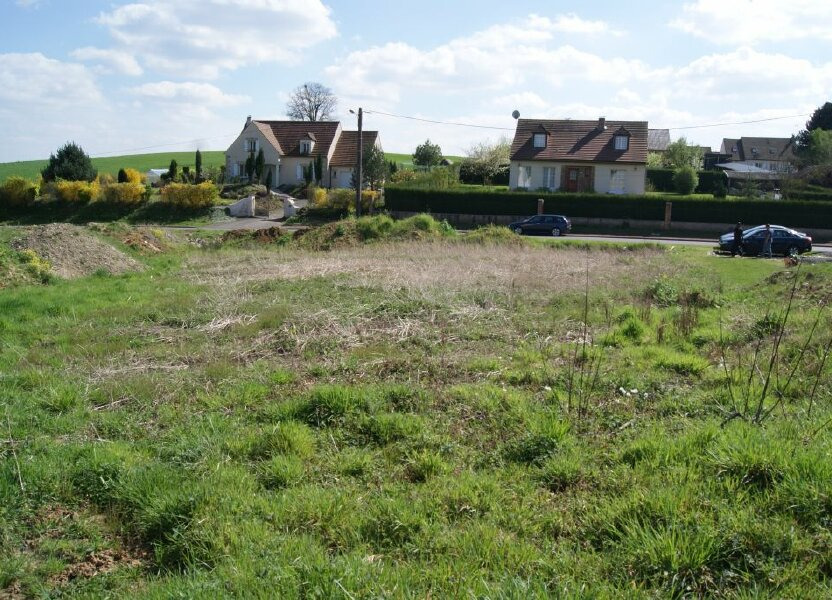 Terrain à vendre 922m2 à Cambronne-lès-Ribécourt
