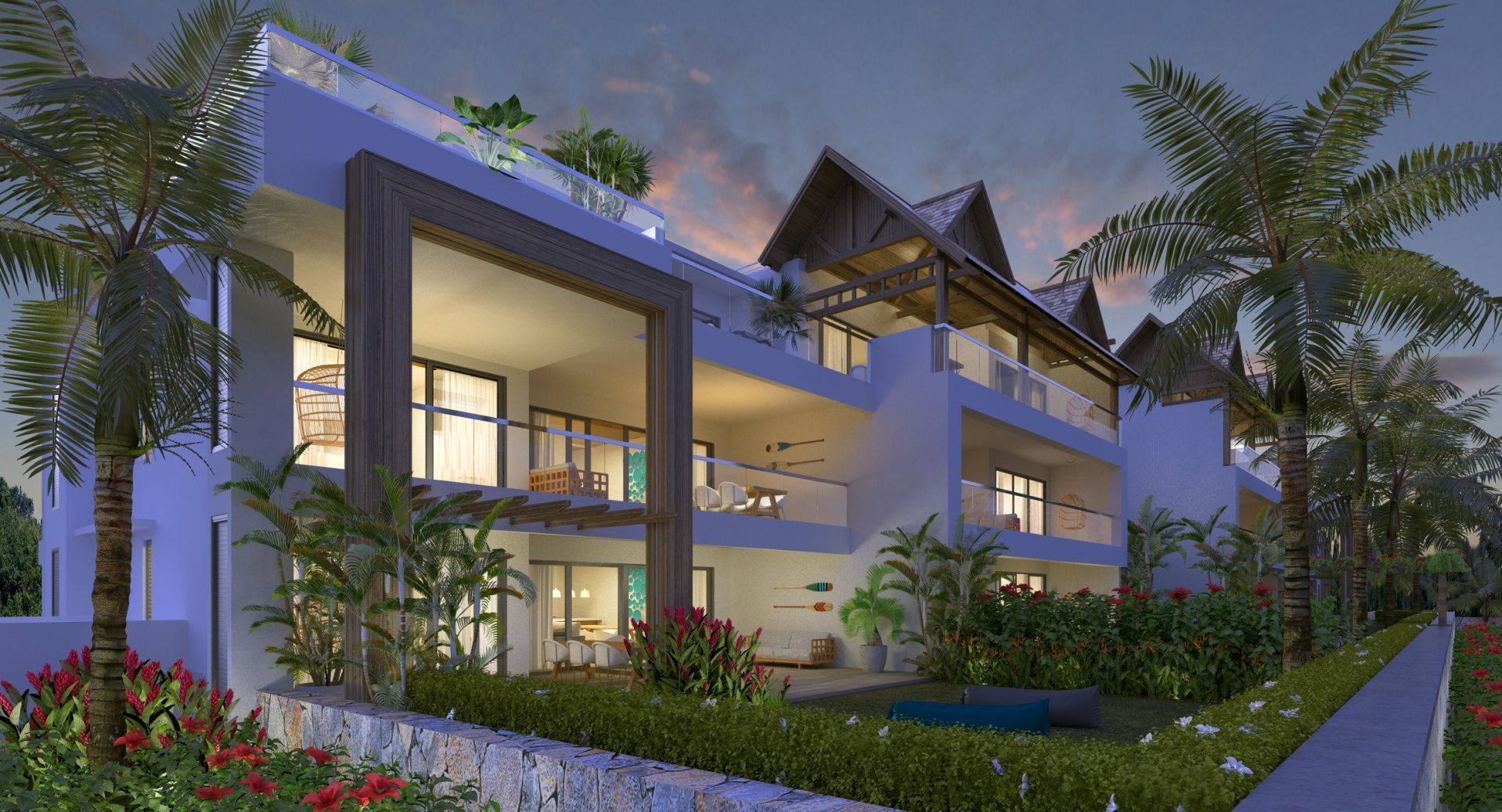 Appartement à vendre 5 174m2 à Ile Maurice vignette-1