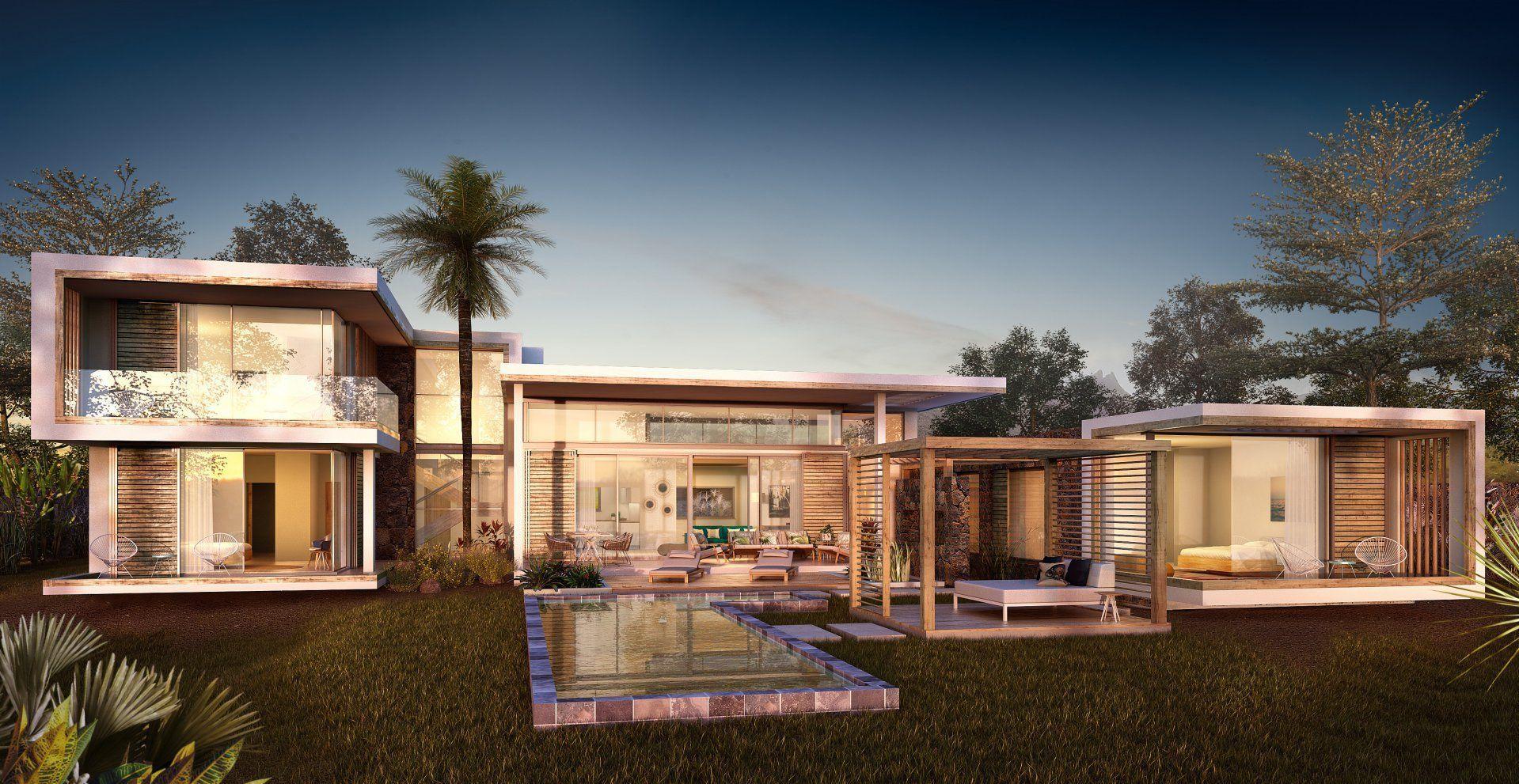 Maison à vendre 4 372m2 à Ile Maurice vignette-1