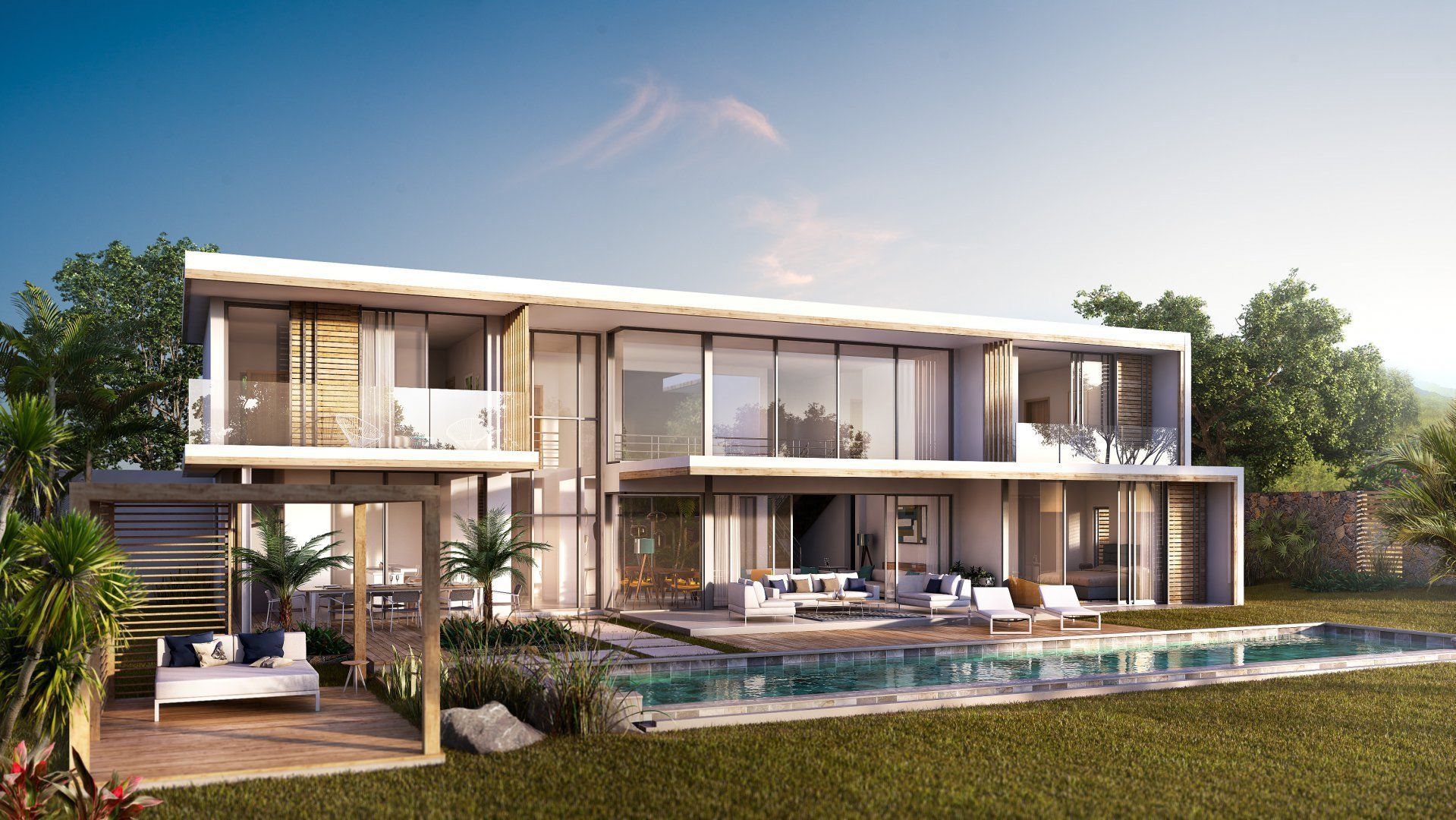Maison à vendre 4 372m2 à Ile Maurice vignette-4