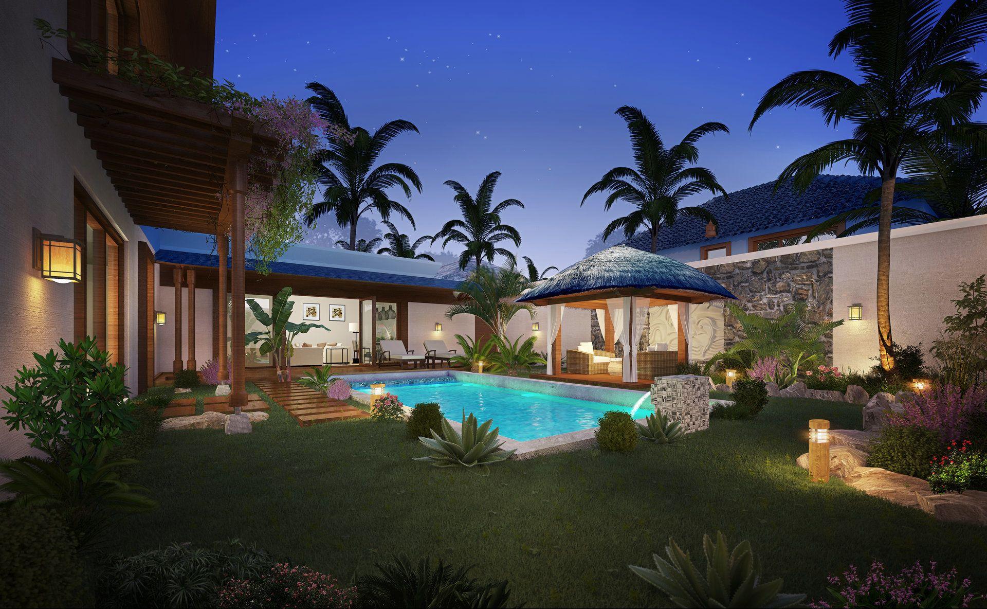 Maison à louer 4 300m2 à Ile Maurice vignette-1