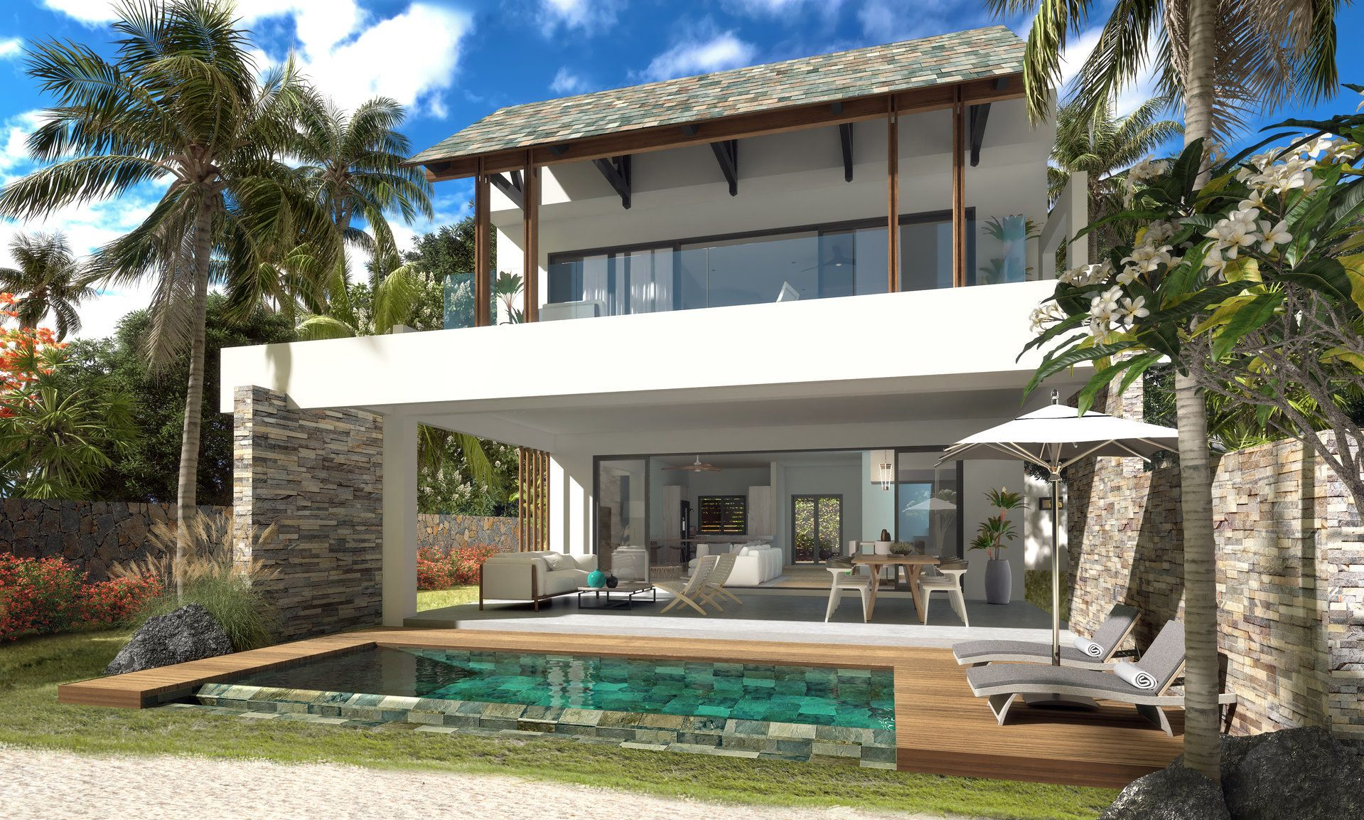 Appartement à vendre 5 160.5m2 à Ile Maurice vignette-4