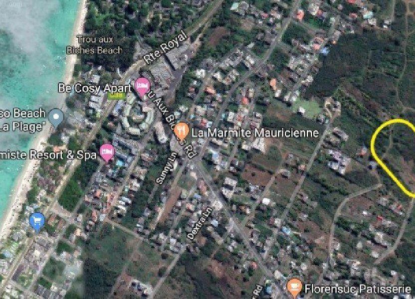 Terrain à vendre 3165.7m2 à Ile Maurice