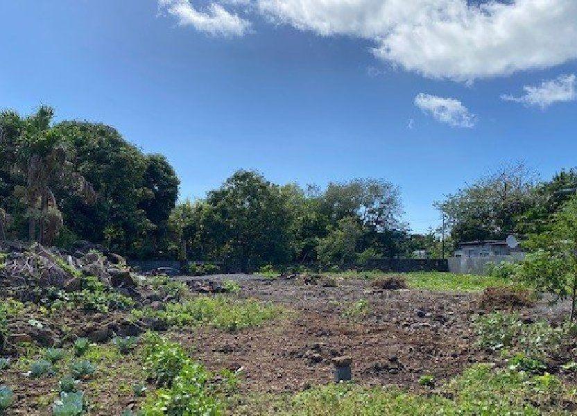 Terrain à vendre 1372m2 à Ile Maurice